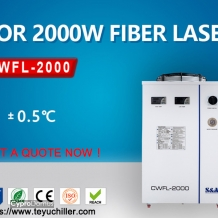 Air cooled chiller for fiber laser weldi